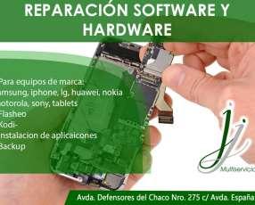 Reparación software y hardware celulares