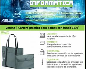 Cartera Klip Xtreme Verona para laptop 15.4 pulgadas