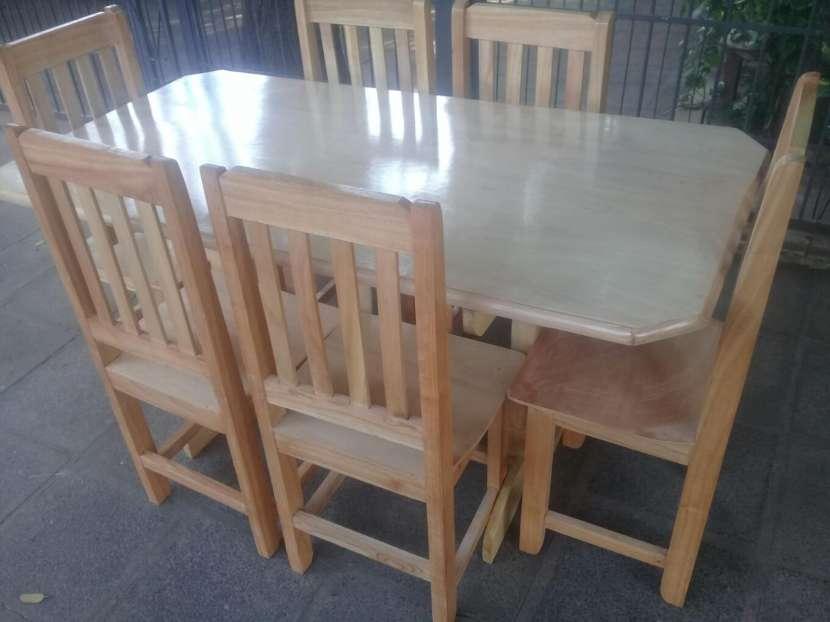 Comedor 6 sillas - 1