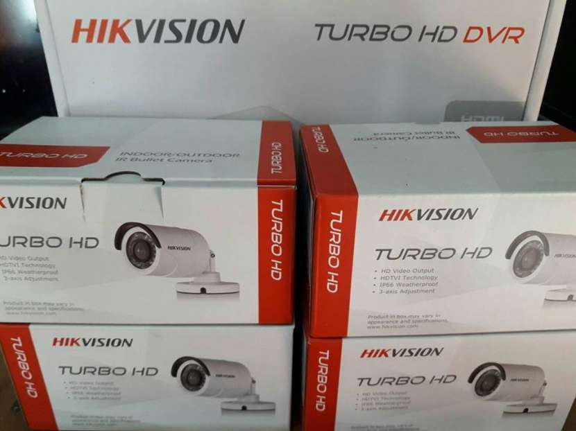 CCTV 4 cámaras Hikvision - 4