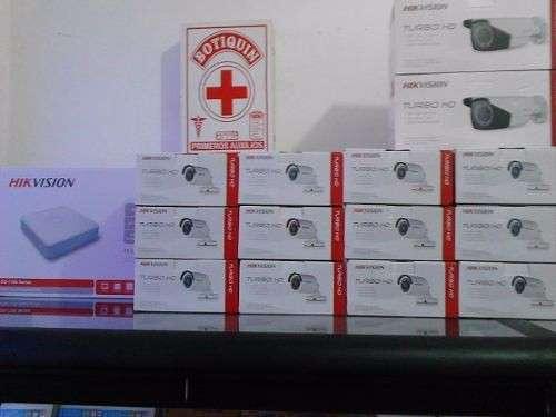 CCTV 4 cámaras Hikvision - 5