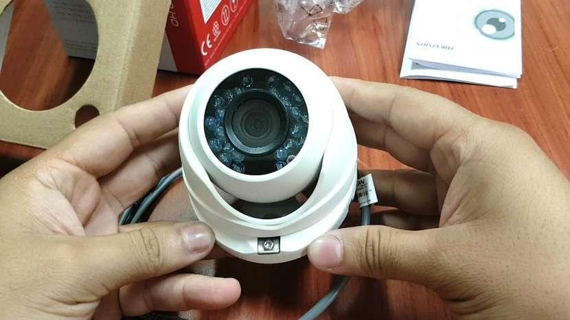 CCTV 4 cámaras Hikvision - 0