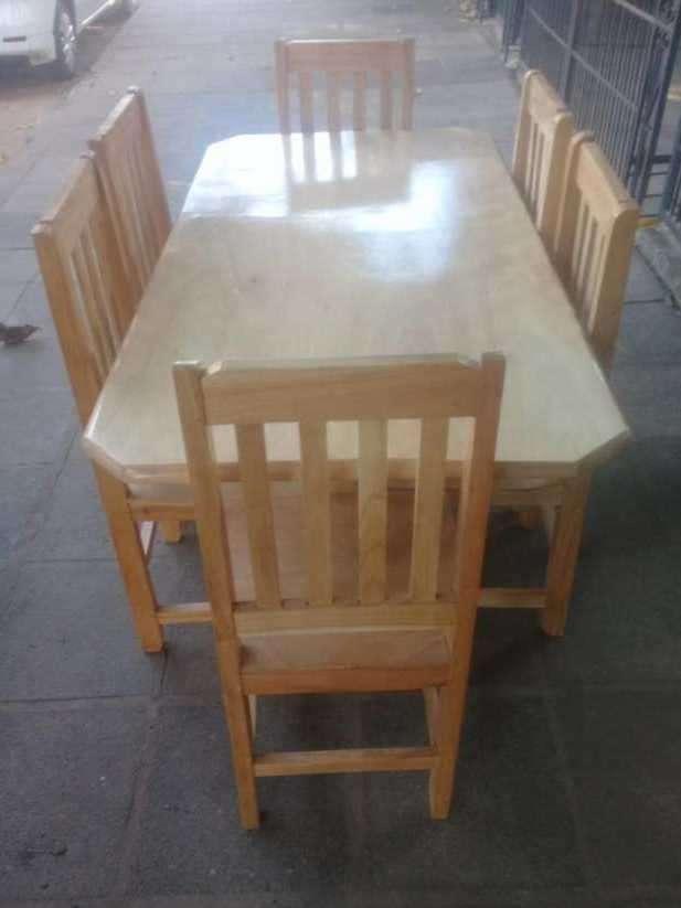 Comedor 6 sillas - 0