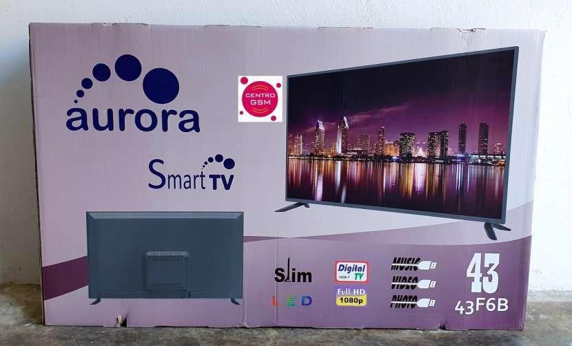 Smart Tv Aurora 43 pulgadas nuevas - 1