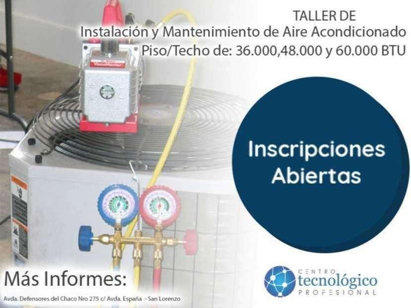 Taller de instalación de aire acondicionado trifásico - 0