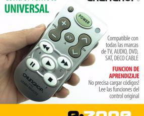 Control Remoto UNIVERSAL TV/SAT/AUDIO/DVD/CABLE