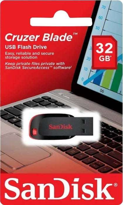 Pendrive 32 gb usb Sandisk