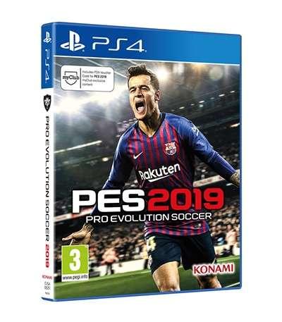 Juego PS4 PES 2019