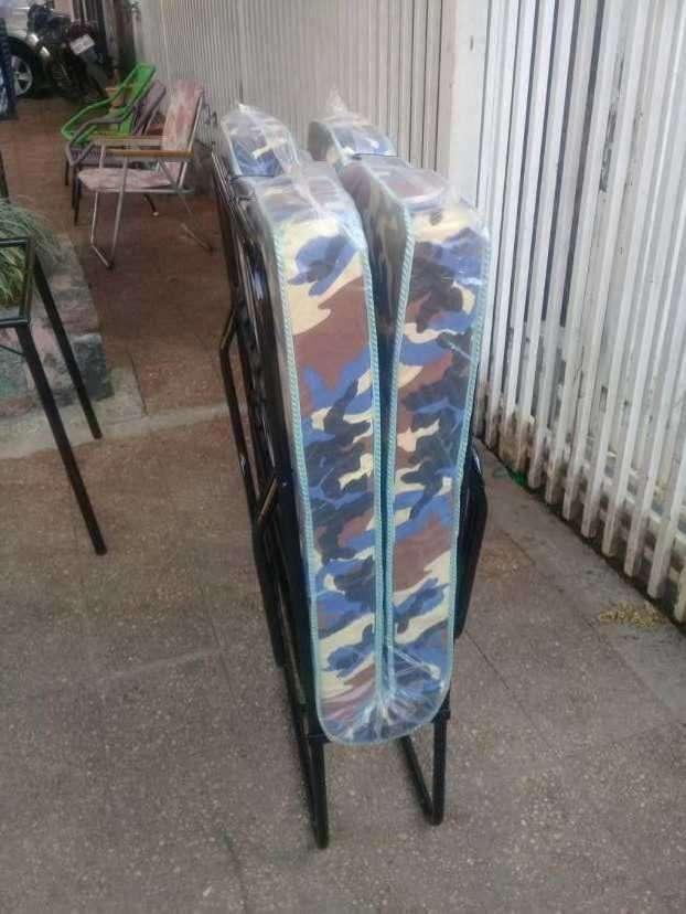 Cama plegable de hierro - 2