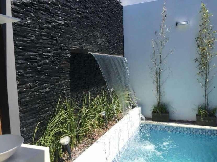 Quincho y piscina - 1