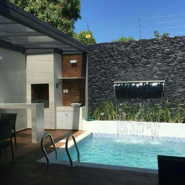 Quincho y piscina - 2