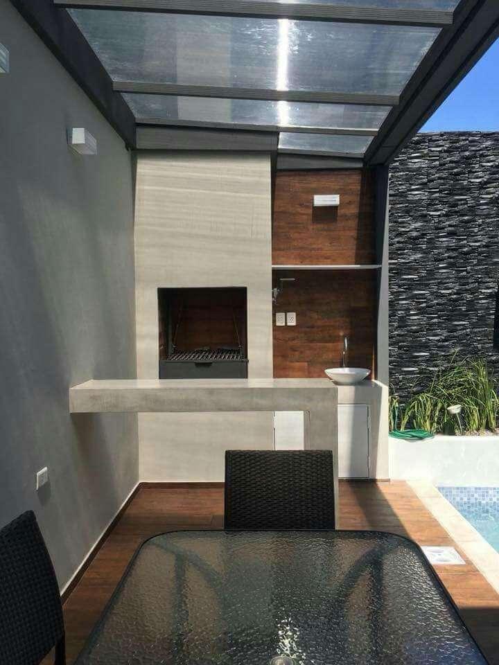 Quincho y piscina - 3