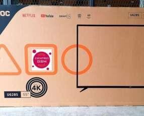 Smart TV AOC 4K UHD 55 pulgadas nuevas con HDR