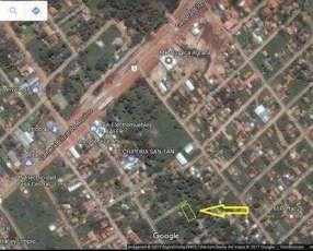 Terreno en limpio- Zona abasto Norte
