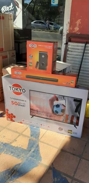 Smart tv led 4k Tokyo 50 pulgadas