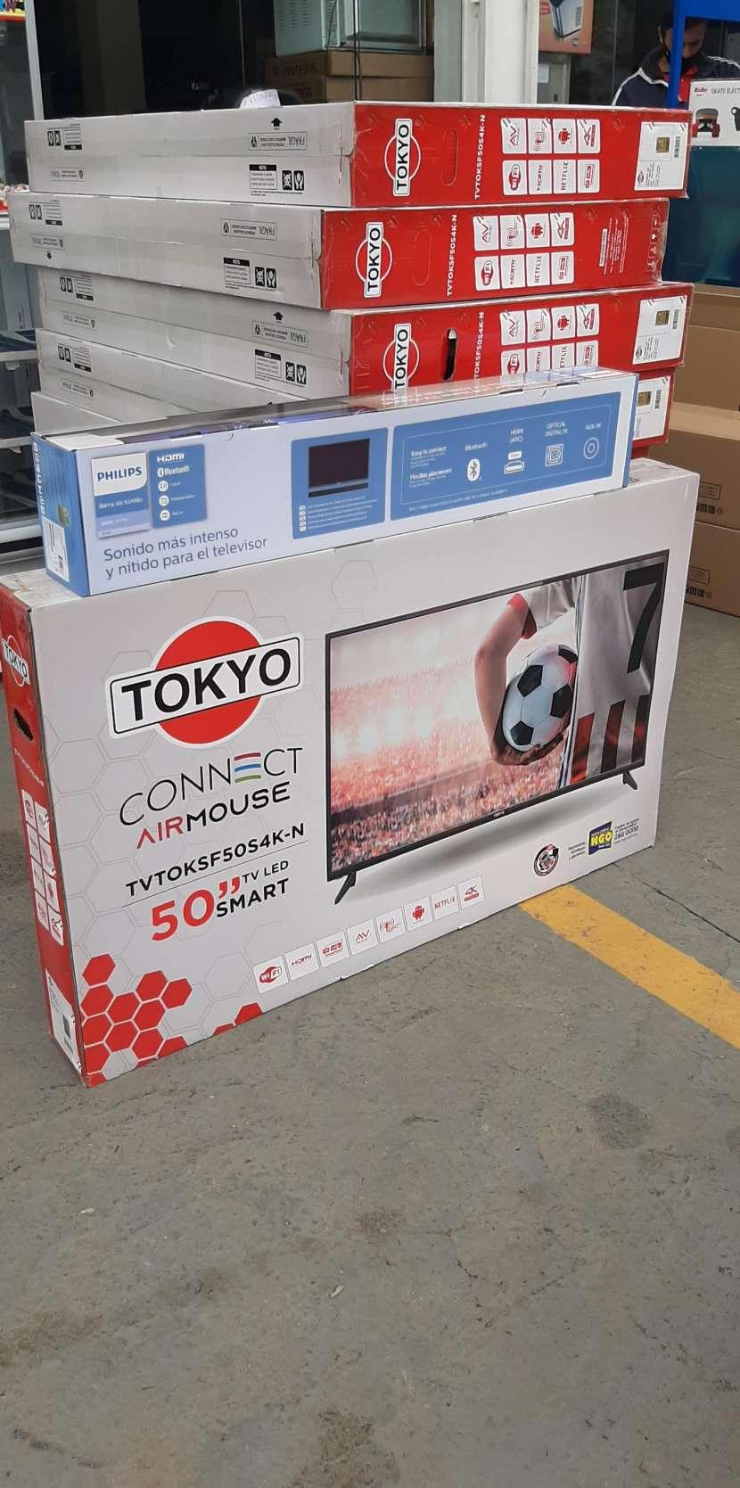 Smart tv led 4K Tokyo 50 pulgadas - 0
