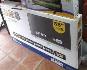 TV LED Smart JAM de 55 pulgadas