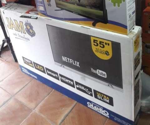 TV LED Smart JAM de 55 pulgadas - 0