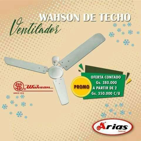 Ventilador wahson - 0