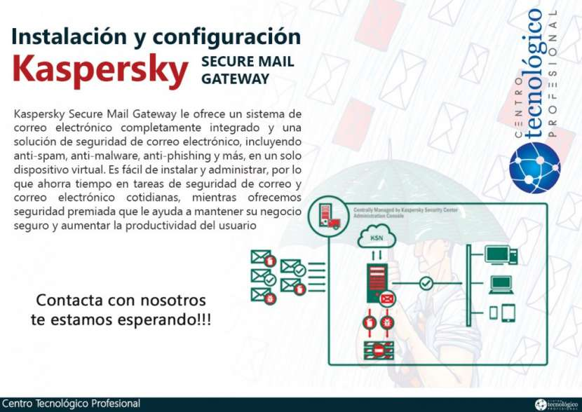 Configuración de Kaspersky Security for Mail Server