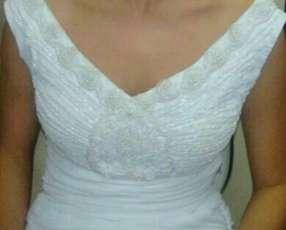 Vestido blanco para colación o boda