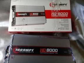 Amplificador Taramps 8.000 HD
