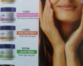 Crema facial Avon Care