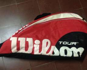 Raqueta de tenis Wilson, Prince y mochila Wilson