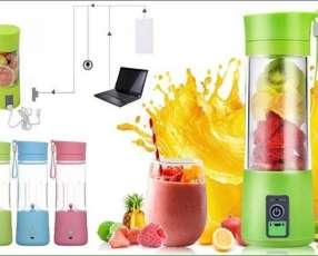 Licuadora Smart Juice Cup funciona sin electricidad