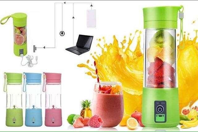 Licuadora Smart Juice Cup funciona sin electricidad - 0