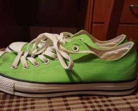 Calzado Converse verde