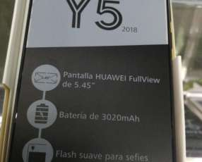 Huawei Y5 2018 financiado