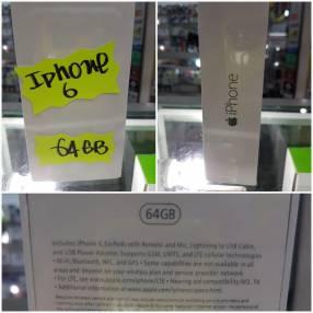 iPhone 6 de 64 gb financiado