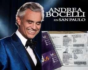 Andrea bocelli en sao paulo (entrada)