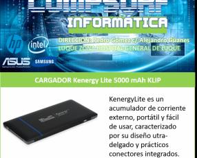 Cargador Kenergy Lite 5000 mAh Klip