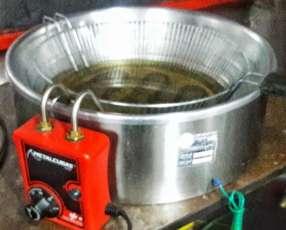 Freidora Metalcubas 7 litros 2500 watios