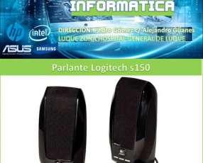Parlantes Logitech para computadoras