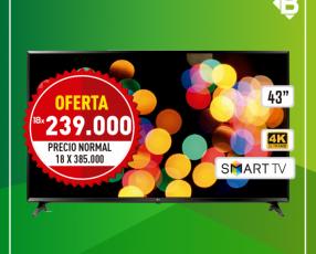 Tv smart LG 43 pulgadas FHD