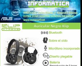 Auricular klip negro