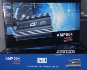 Amplificador analógico de 4 canales de 2400 watts