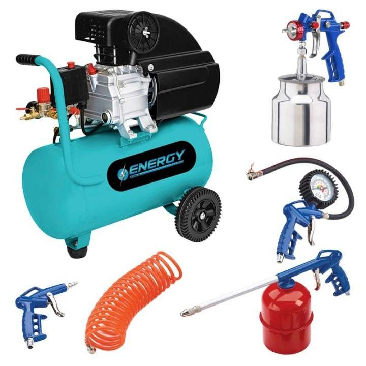 Compresor de 40 litros Energy con kit