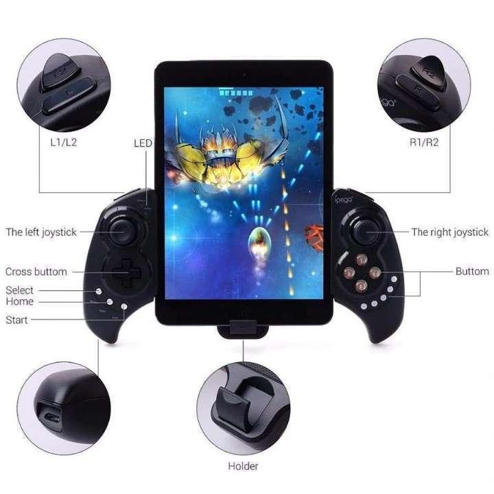 Gamepad iPega 9023 Bluetooth iOS Android PC - 2