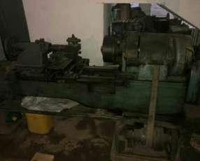 Torno motor trifásico de 5hp