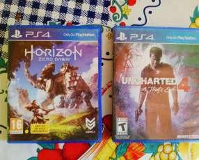 Horizon & Uncharted 4