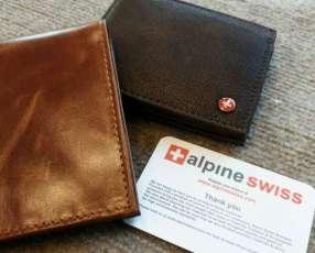 Billeteras en cuero 100% original