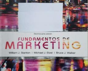 Libro fundamentos del Marketing