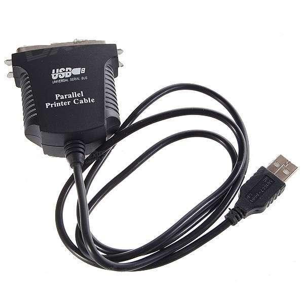 Conversor usb cable, salida para conexión tipo impresora