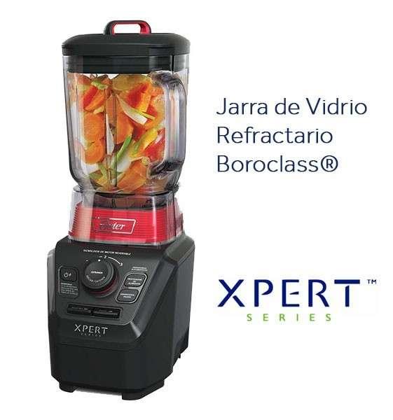 Licuadora Oster Xpert Series con vaso de vidrio Boroclass