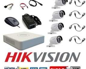 Kit hikvision para instalar