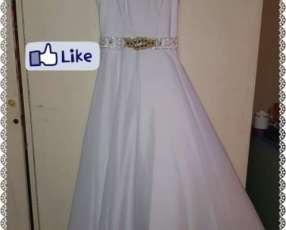 Vestido blanco 1 solo uso